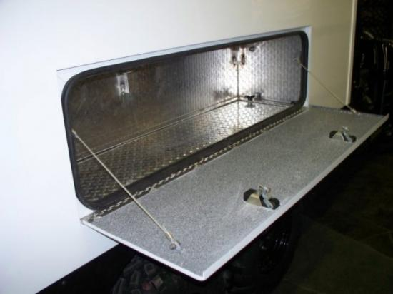 Door-Side Access to Bench Storage