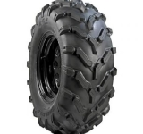Carlisle PXT Off-Road Tires on Black Painted Steel Wheels