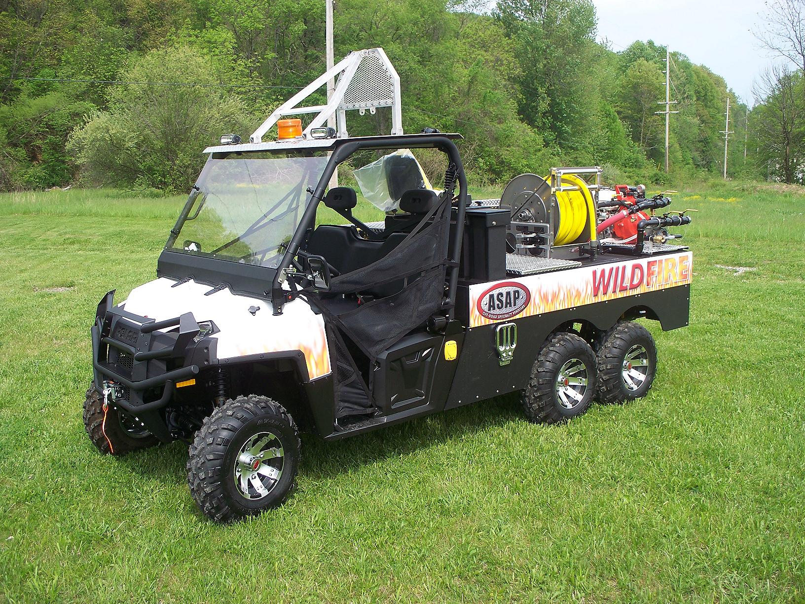 New Deliveries Asap911 All Terrain Utv Emergency Vehicles