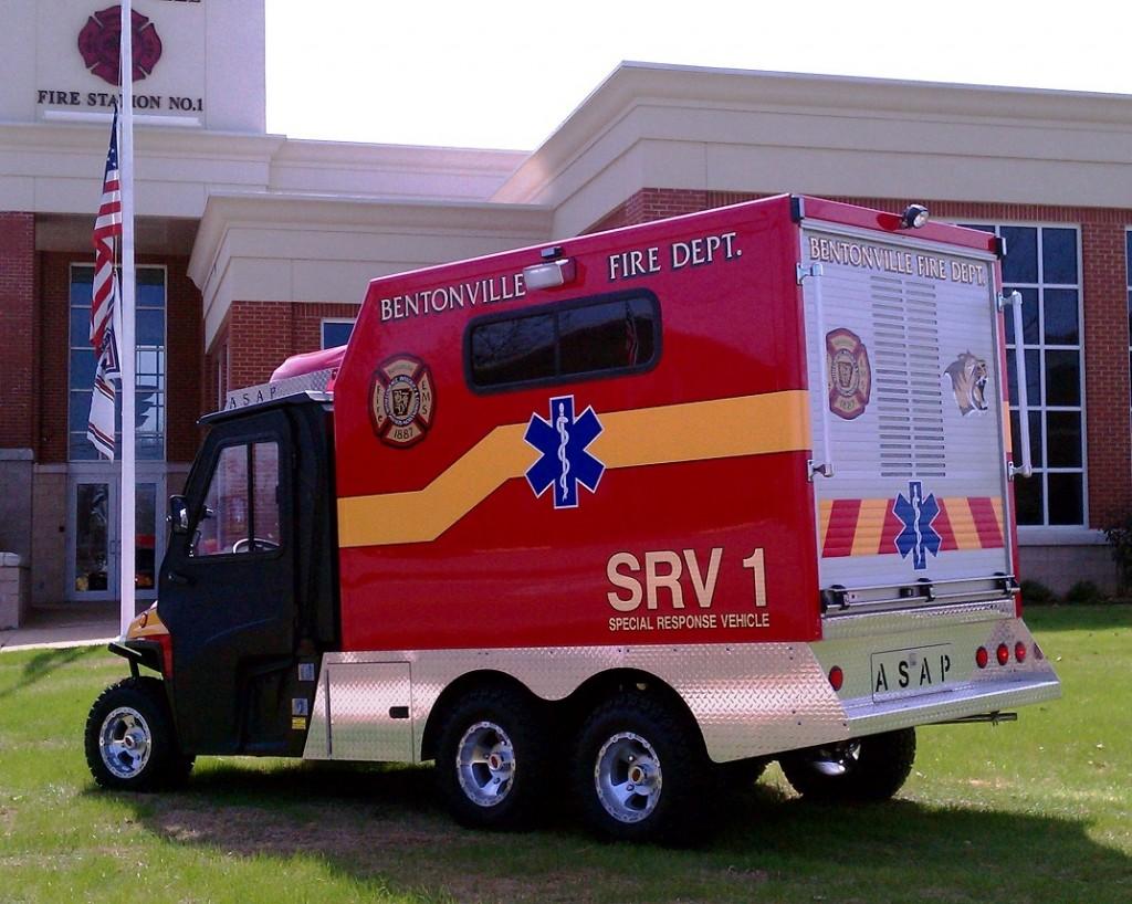 New deliveries asap911 all terrain utv emergency vehicles for Sierra motors ottawa il